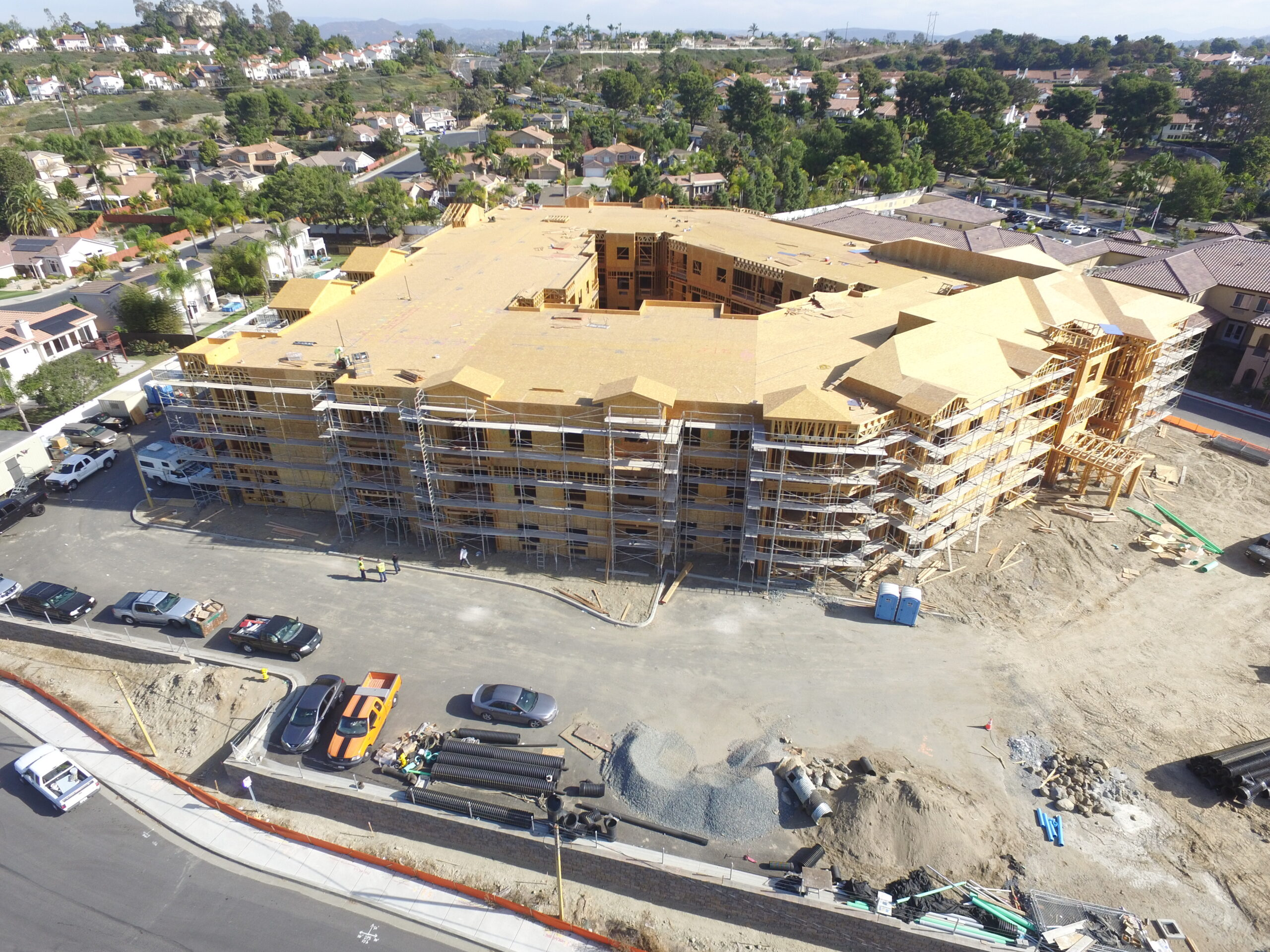 Pacific West Development Completes Framing at Ocean Hills Phase 2
