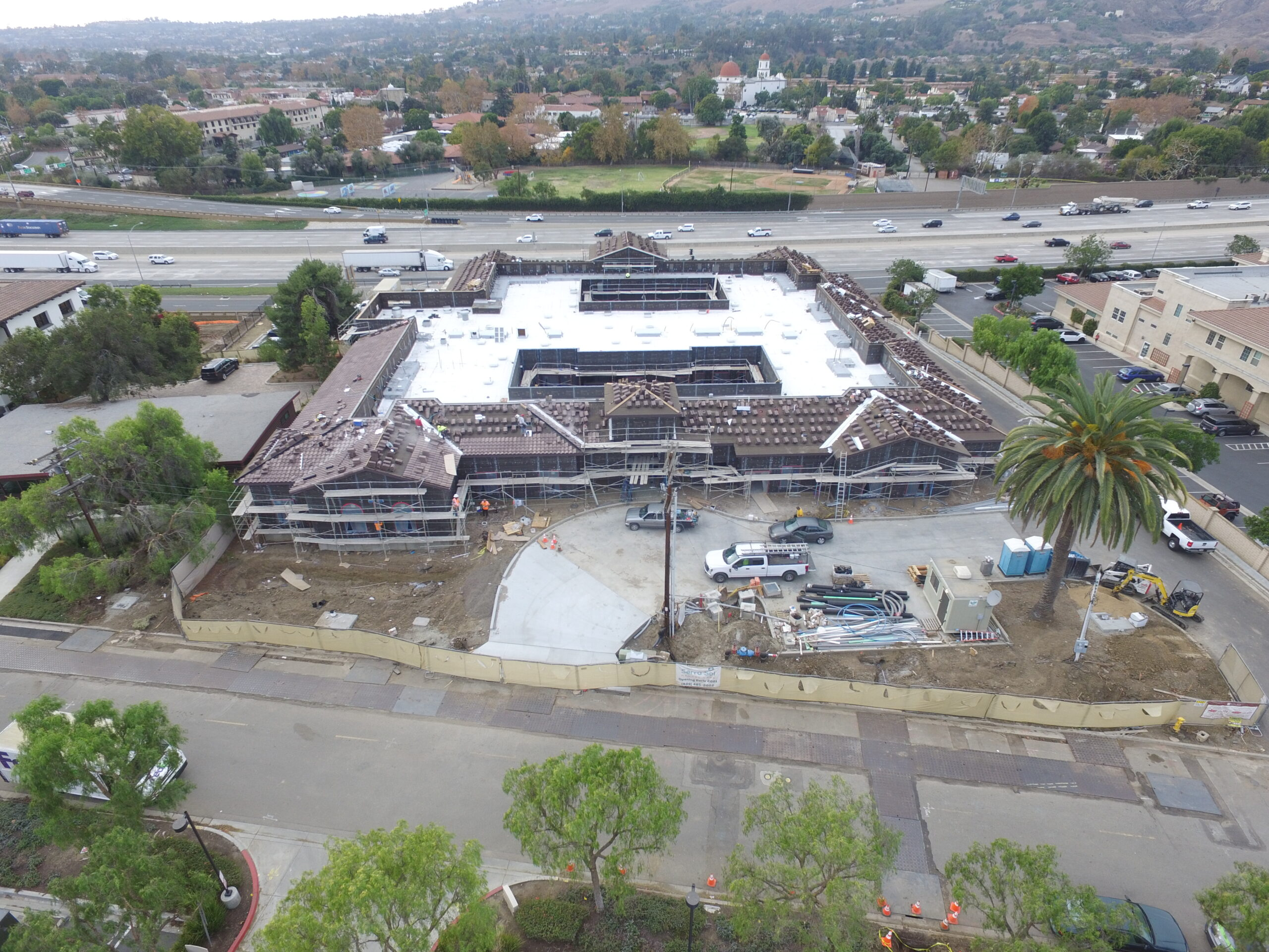 Pacific West Development Starts Stucco and Drywall at San Juan Capistrano Memory Care