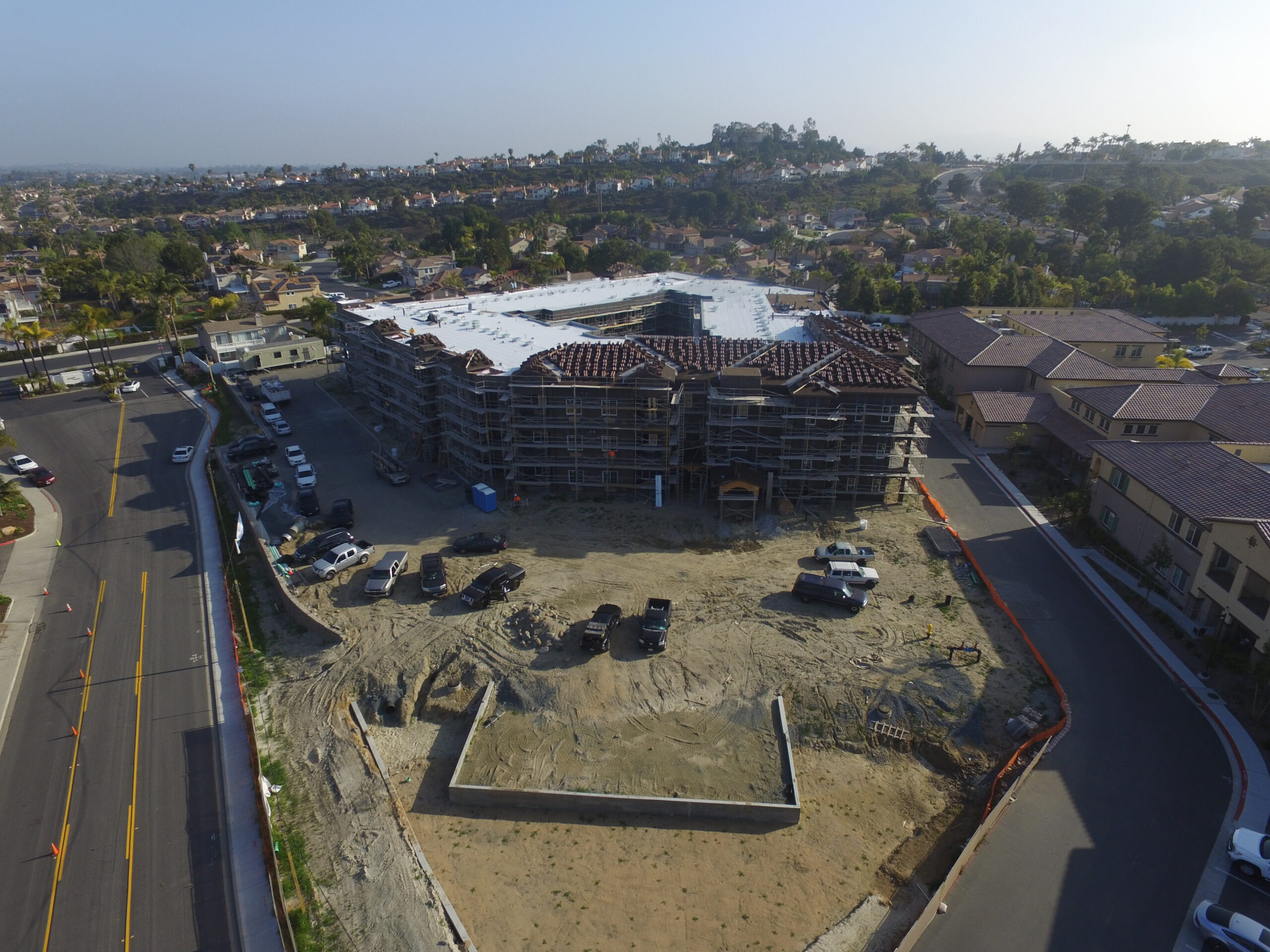 Pacific West Development Starting Stucco and Drywall at Ocean Hills – Phase 2