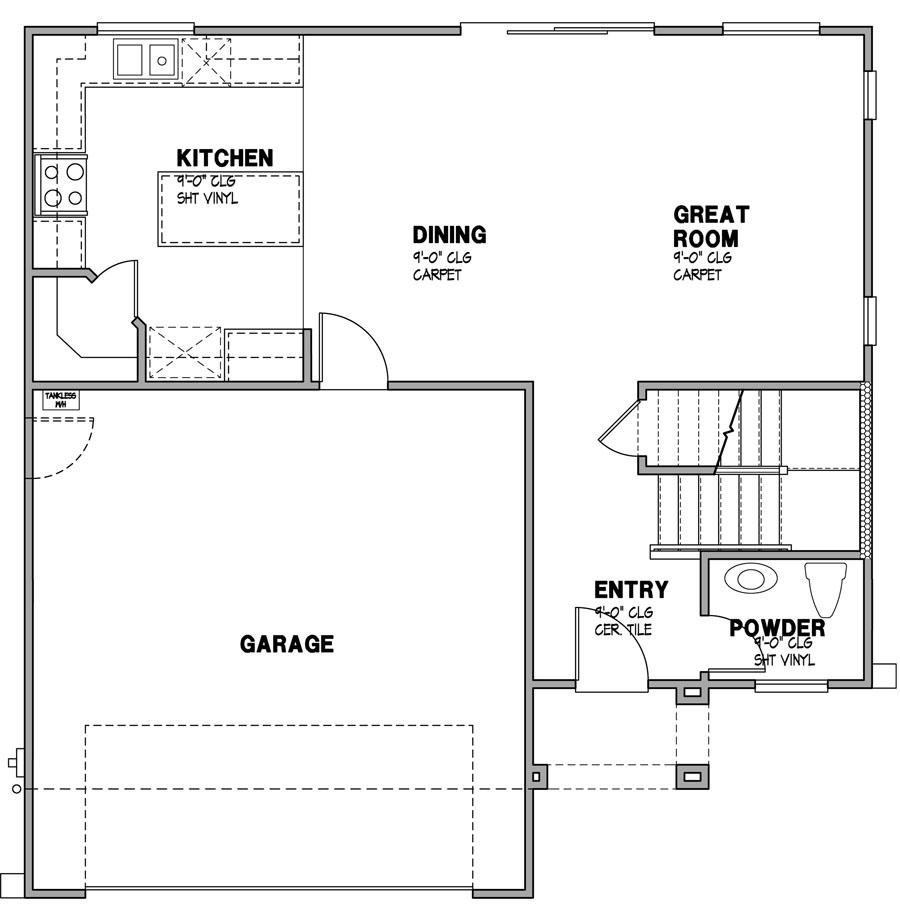 Solana Vista - Residence 2-1 Layout