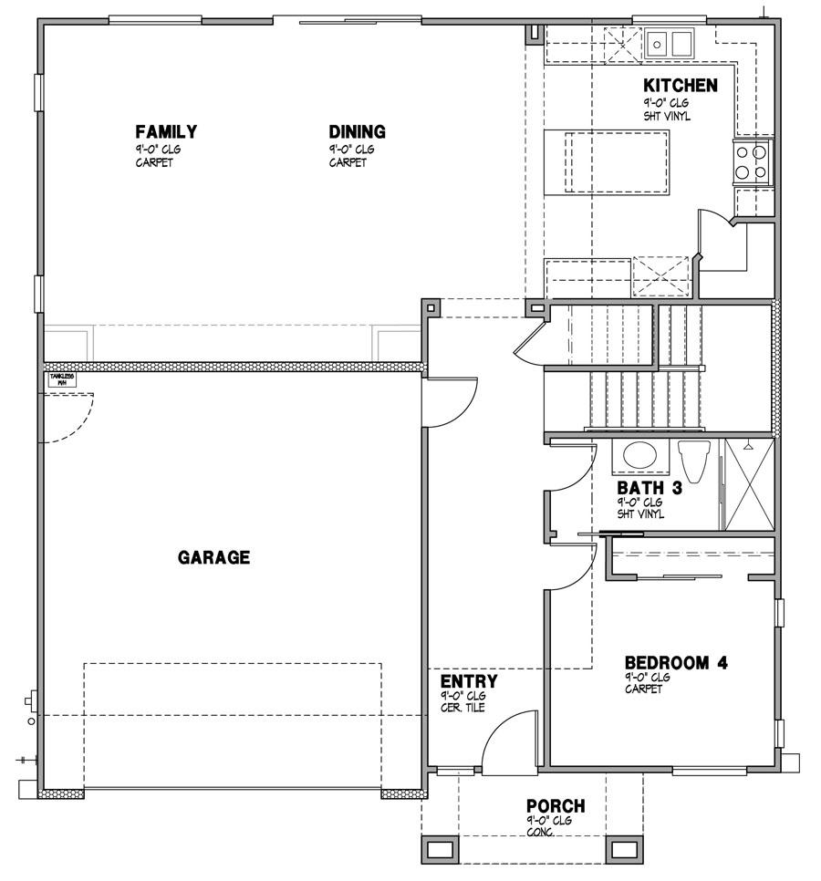 Solana Vista - Residence 4-1 Layout